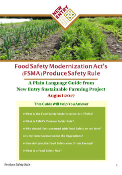 (FSMA) Produce Safety Rule: A Plain Language Guide